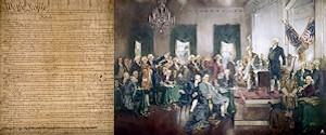 U.S. Constitution and the Founding Fathers who signed it