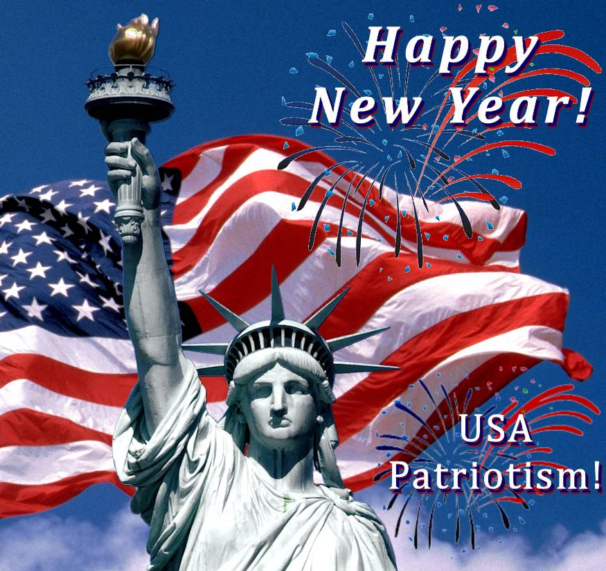 USA Patriotism! wishes all Americans a wonderful, successful, and healthy 2019 ... with special best wishes for our beloved country's brave, honorable troops and first responders!