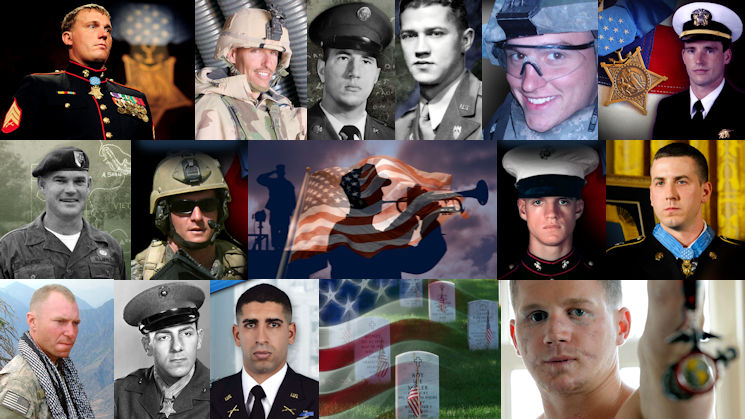 U.S. Medal of Honor Recipients Collage