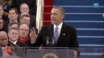 President Barrack Obama's Second Inauguration and Address on January 21, 2013