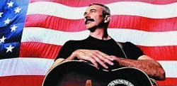 Aaron Tippin on cover of his Stars & Stripes CD
