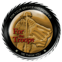 "Cover of CD ""For the Troops"""