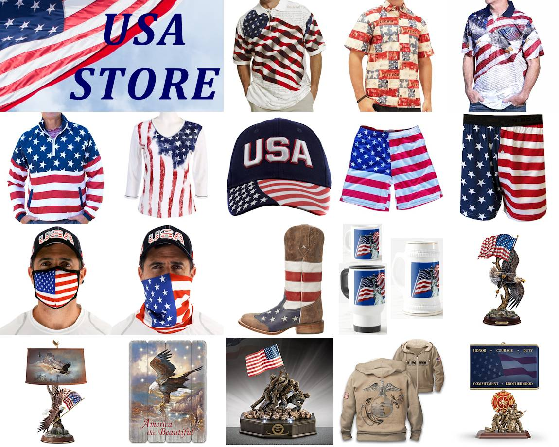USA Store ... America Theme Patriotic Gifts